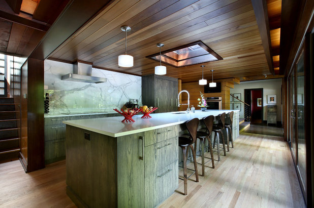 Rustic Kitchen by Scott Christopher Homes