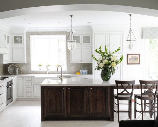 Backsplash Around Window Houzz