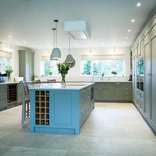 Serene Sage Green Kitchen