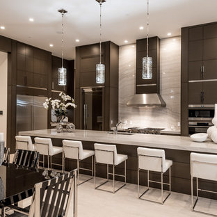 75 most popular contemporary kitchen with granite countertops design