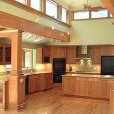 Craftsman Kitchen by Remington Architecture