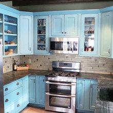 Uniquely Colored Kitchens