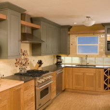 Traditional Kitchen by Elizabeth P. Lord Residential Design