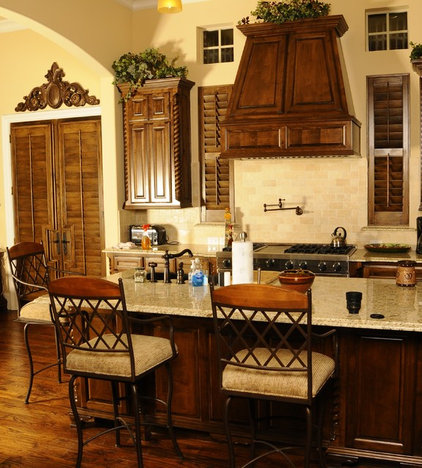 Traditional Kitchen by Sewell Shutters Inc.