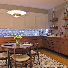 Contemporary Kitchen by Marks & Frantz Interior Design