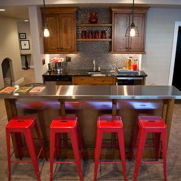 Sexton Basement Kitchen/ Wetbar