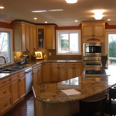 Traditional Kitchen by Vintage Home Design