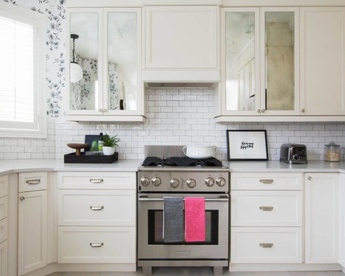 Shabby chic style kitchen design ideas, renovations & photos with ...