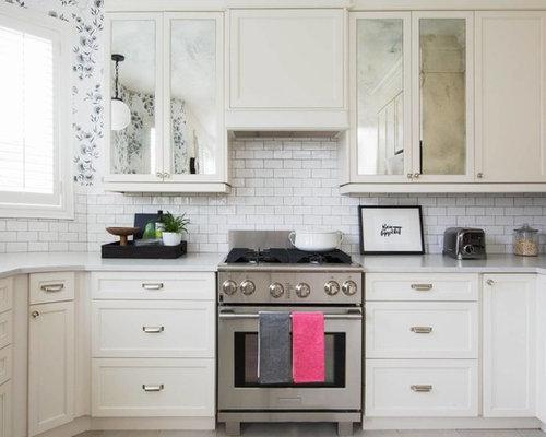 Piccola cucina shabby chic style foto e idee per ristrutturare e