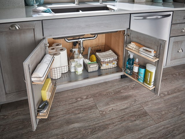 6 Ingenious Storage Solutions For Kitchen Under Sink Areas