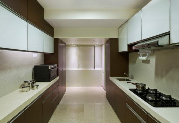 Indian Kitchen by amritha karnakar architectural design