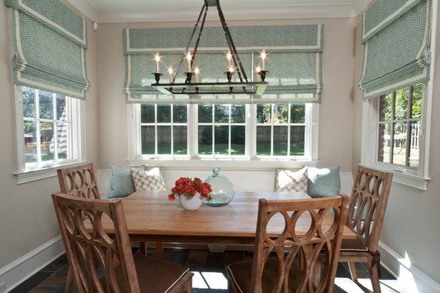Transitional Kitchen by Anna Lattimore Interior Design