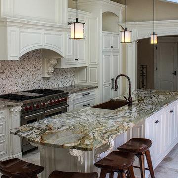 Shadyside Green Granite Kitchen
