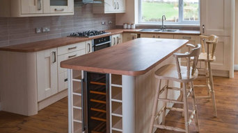 Shaker country style kitchen