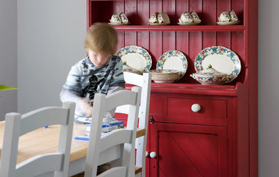 Pick the Perfect Dining Room Storage