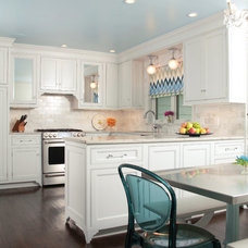 Transitional Kitchen by Shaker Interiors