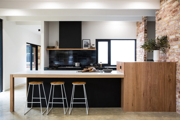Contemporary Kitchen by Space Craft Joinery