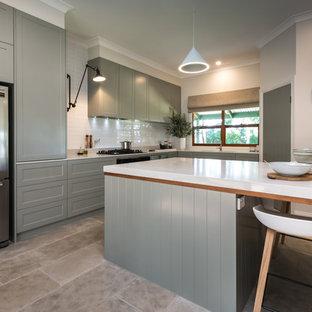 Shaker-Inspired Contemporary Designer Kitchen