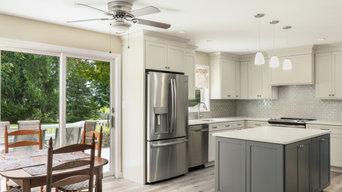 Shaker Inspired Contemporary Kitchen in Slingerlands, NY