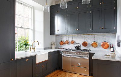 A Period Home in Scotland Gets a Kitchen Fit for a Chef