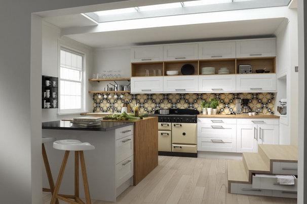 Contemporary Kitchen by Wren Kitchens