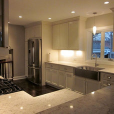 Transitional Kitchen Cabinetry by Royal Kitchen and Bath Cabinets