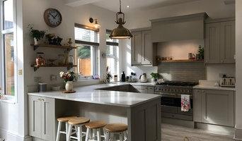 Shaker Stone Painted Kitchen