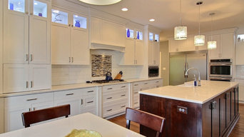 Shaker style Cabinetry In Model Home