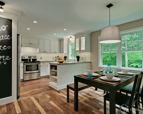 A Shaker Update for A Connecticut Kitchen