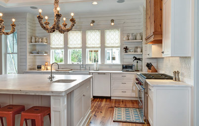 Trend White Kitchens Kitchen of the Week Classic Style for a Southern Belle