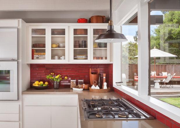 Midcentury Kitchen by BK Interior Design