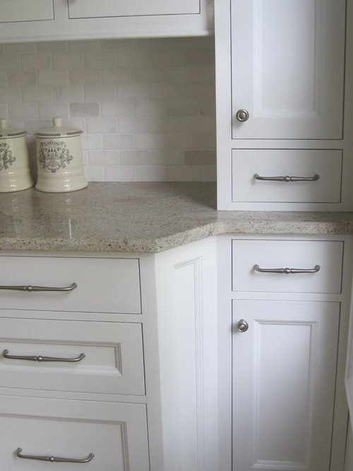 Tumbled Marble Backsplash Home Design Ideas Pictures