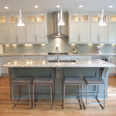 Contemporary Kitchen by Heather Stonecipher