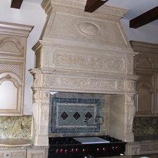 Traditional Kitchen by American Masonry Supply, Inc.