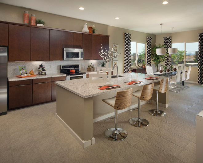 Transitional Kitchen by Meritage Homes