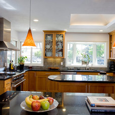 Traditional Kitchen by C & A Builders
