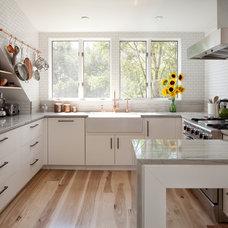 Contemporary Kitchen by Bunker Workshop