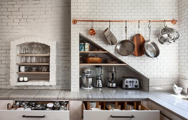 Scandinavian Kitchen by Matt Delphenich Architectural Photography