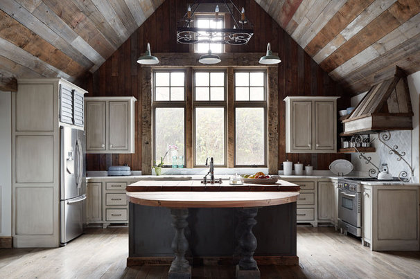 Contemporary Kitchen by Wellborn + Wright
