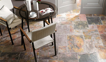 Sheera Multicolour Slate Modular Floor Tiles