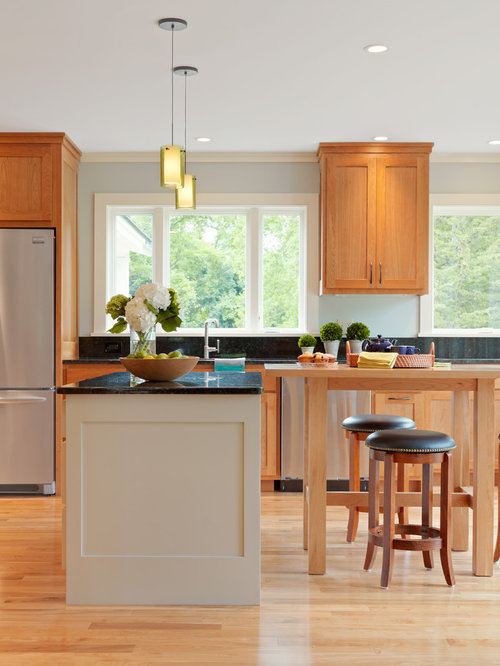 painted maple cabinets houzz