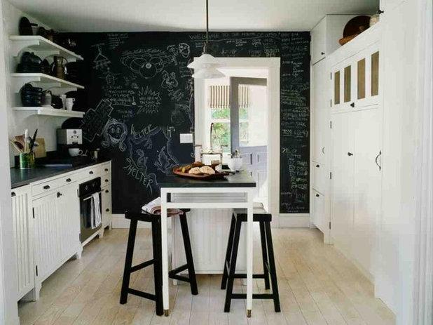 Beach Style Kitchen by SchappacherWhite Architecture D.P.C.