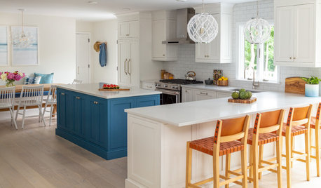 Before and After: 4 Kitchens With Refreshing Blue Touches