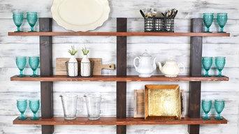 Shelving, Open Shelving, Display shelves, Picture Ledges