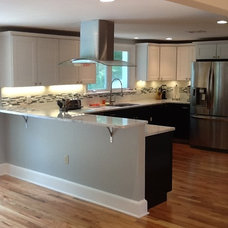 Contemporary Kitchen by Lowes of Morgantown, PA