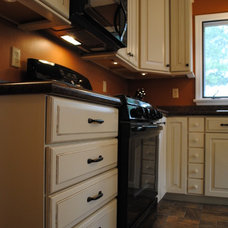 Traditional Kitchen by Lowe's of Avondale, PA
