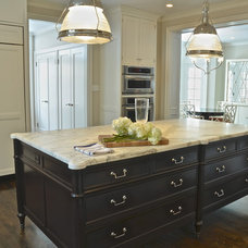 Traditional Kitchen by Jay Iverson/ Exquisitely Crafted Residences