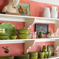 Eclectic Kitchen by Shafer O'Neil Interior Design