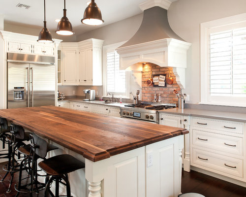 kitchen islands houzz island wood countertop houzz 2067