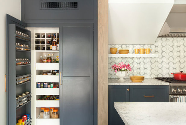 Fusion Kitchen by Breathing Room Design